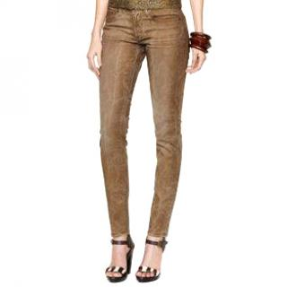 Ralph Lauren Skinny embroidered jeans