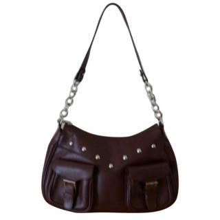 Graeme Ellisdon Brown leather Osprey Handbag