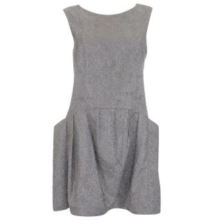 Theyskens Theory Textured Shift Dress