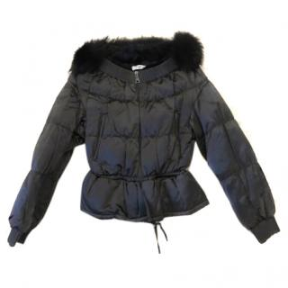 Prada Fox Fur Down Jacket