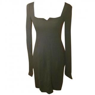 Patrizia Pepe Black Bodycon Dress