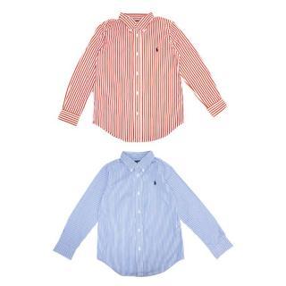 Ralph Lauren Kid's Two Striped Shirts