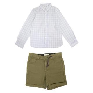 Stella McCartney and Marie Chantal Boys Shorts and Shirt