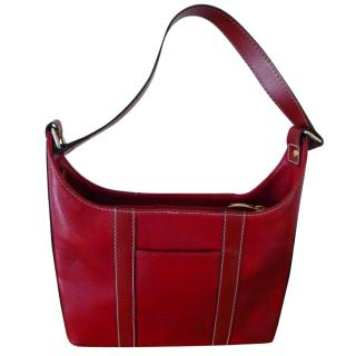 Lancel Red Shoulder Bag