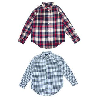 Ralph Lauren Kid's Two Check Shirts