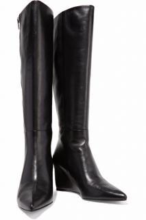 Alexander Wang 'Lea' Leather Wedge Boots