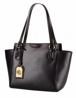 Lauren by Ralph Lauren Women's Green Leather Handbag