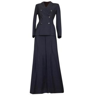 Max Mara Marine double breast pant suit