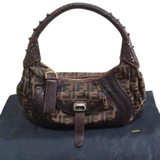 Fendi Printed Handbag