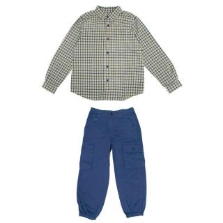 Little Marc Jacobs Boy's Trousers and Bonpoint Shirt