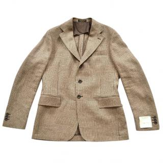 Ralph Lauren RRL Plaid linen-cotton jacket