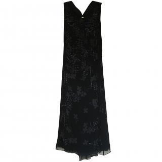 Armani Collezioni Black Evening Dress
