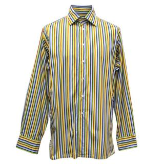 Richard James Mens Multicolored Cotton Shirt