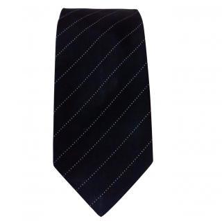 Paul Smith Black Striped Tie