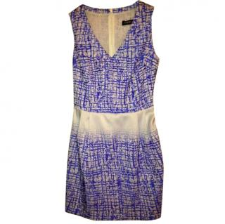 Byblos Blue Patterned Dress