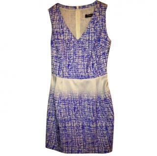 Byblos Blue Patterned Dress