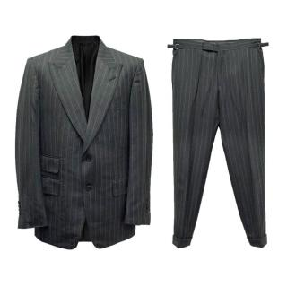 Tom Ford Men's Grey Pinstripe Suit