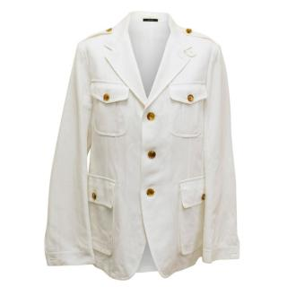 Tom Ford Men's White Casual Jacket