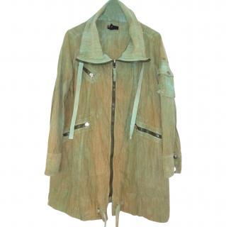 Diesel Khaki Parka Coat