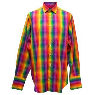 Richard James Men's Colourful Check Shirt