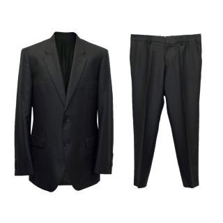 Versace Black Two Piece Suit