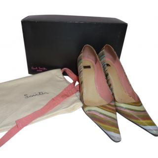 Paul Smith Multicoloured Court Shoe