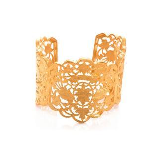 Bespoke Gold Plated Silver Bracelet