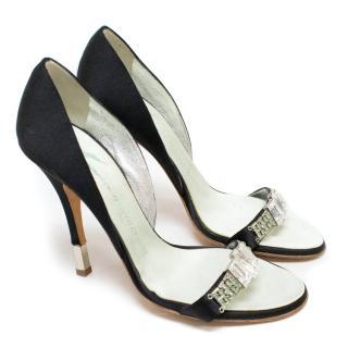 Giuseppe Zanotti Black Heeled Sandals