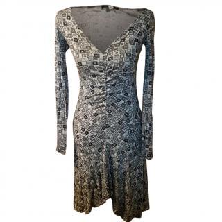 Patrizia Pepe Asymmetric Hem Dress