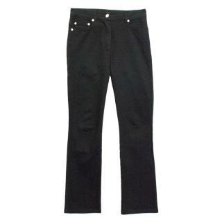 Plein Sud Black Flared Jeans