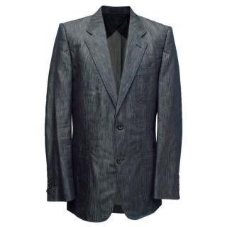 Yves Saint Laurent Dark Grey Blazer