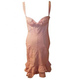 Mattiolo J Striped Pencil Dress