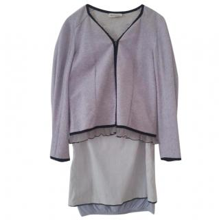 Rochas Light Violet Skirt Suit
