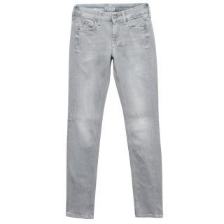 MIH Grey Slim Fit Jeans
