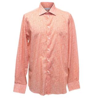 Richard James Men's Bandana Print Shirt