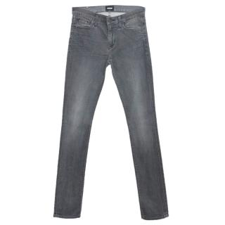 Hudson Dark Grey Slim Fit Jeans