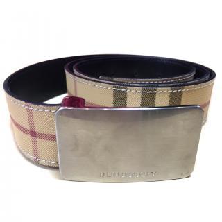 Burberry Classic Printed Belt
