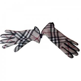 Burberry Ladies Classic Printed Gloves