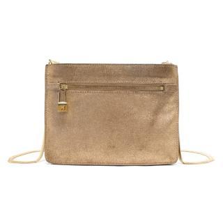 Halston Small Golden Bag