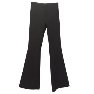 Gucci black wool trousers