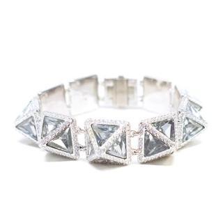 Swarowski Crystal Spike Bracelet