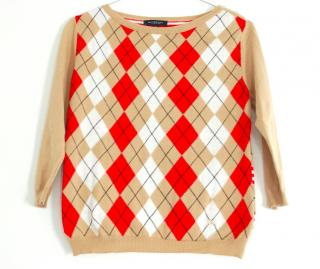 Burberry Checked Jumper