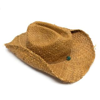 Melissa Odabash Straw Cowboy Hat
