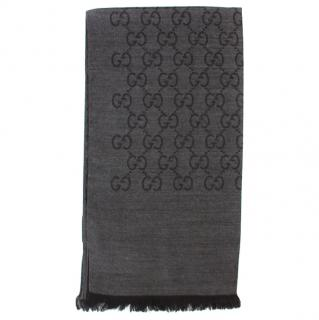 Gucci Woolen Reversible Scarf