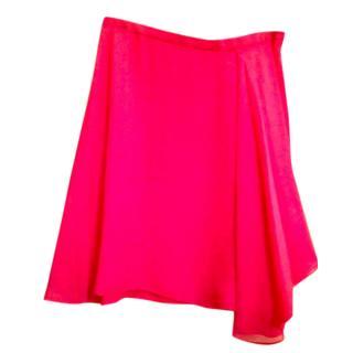 Philip Lim Pink silk skirt