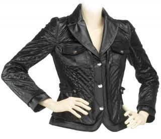 Love Moschino Black Quilted Jacket