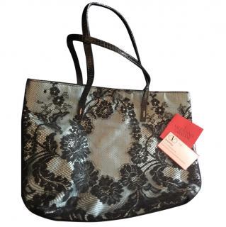 Valentino lace evening bag