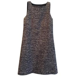 Red VALENTINO little wool dress size S