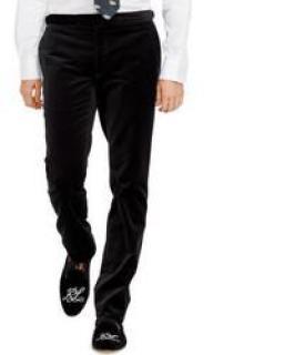 Ralph Lauren Black Label velvet tuxedo trousers