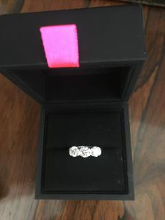 Theo Fennell Reveal Trio Ring - 1.8 Carats G-H/VS with Theo Fennell BOX & PAPERS